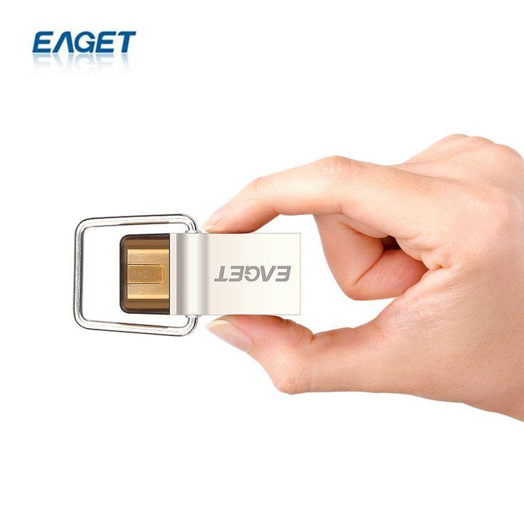 EAGET CU10 Type-C USB 3.0 Flash Drive Pendrive 16GB 32GB 64GB USB Disk Drive Storage Stick U Disk For HUAWEI Type-C Device PC