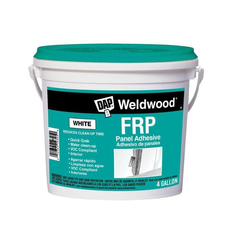 Dap Weldwood 4 Gal Frp Construction Adhesive 7079860481 Adhesive Concrete Basement Walls Plastic Moulding