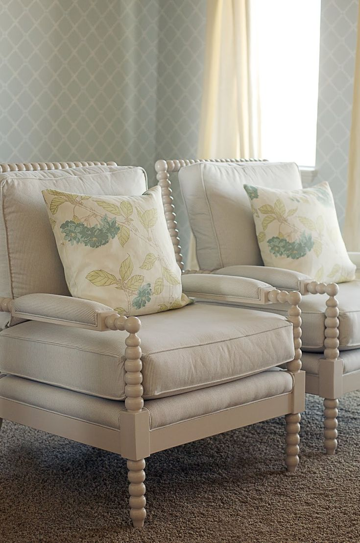 I love these bobbin chairs!  One of my favorite styles! {Caitlin Creer Interiors}