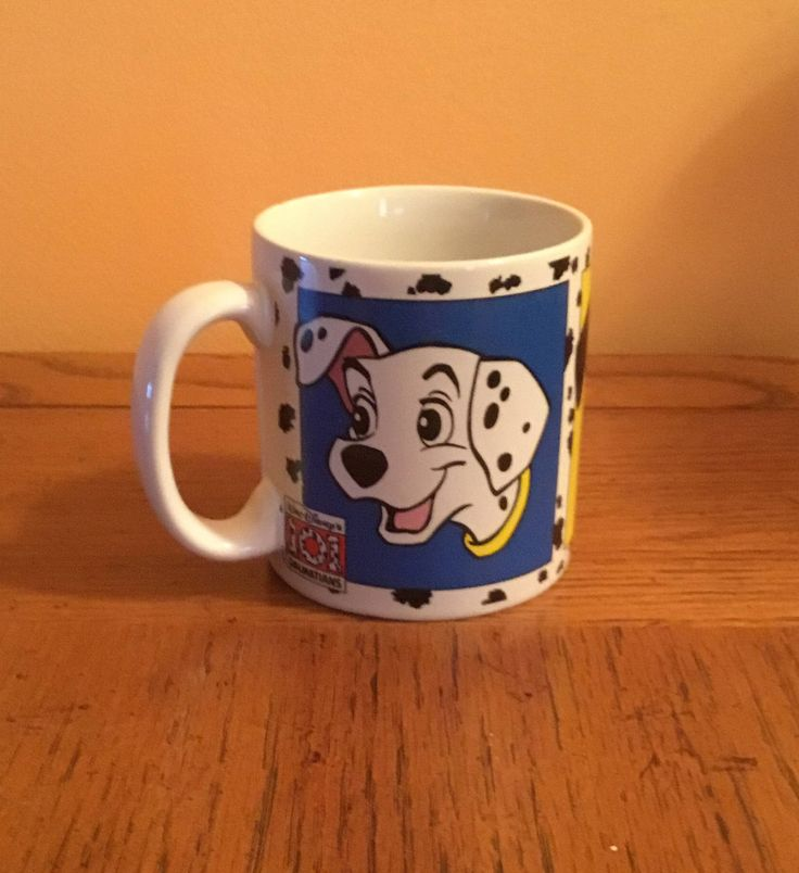 Vintage Collectible Walt Disney 101 Dalmatians Dog Cartoon Movie / Ceramic Mug Cup Coffee Tea Cocoa Novelty Memorabilia Coffee Coco Mug Cup by ShowMeShabby on Etsy