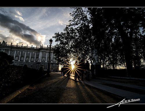 Palacio real sombras