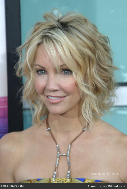 heather locklear - beach waves