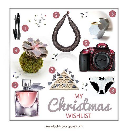 Christmas Wishlist | bold.color.glass blog