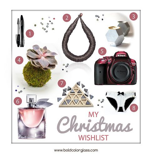 Personal Christmas Wishlist | bold.color.glass blog