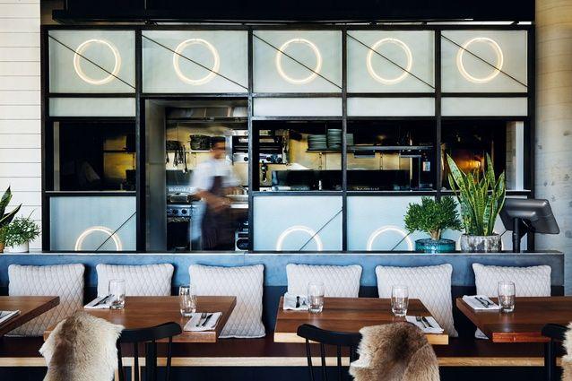 Winner of Best Restaurant Design –  Beccafico by Matt Woods Design.