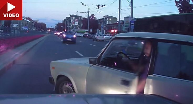 Russian Road Rage Incident Ends With Karma Having Last Word