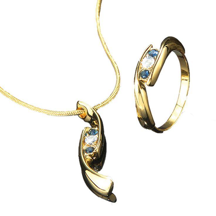 2-delige sieradenset met echt diamant  Description: Fonkelende diamant in fijne goudkleurige sieraden. Alleen onze gewaardeerde klanten bieden wij nu middels een kortingscheque de mogelijkheid om gebruik te maken van deze speciale aanbieding en de trotse eigenaar te worden van deze bijzondere 2-delige sieradenset met echt diamant. U begrijpt dat wij u niet dagelijks zo?n bijzondere kans aan kunnen reiken. Ik adviseer u dan ook om dit geweldige aanbod met beide handen aan te grijpen. Ik ben…