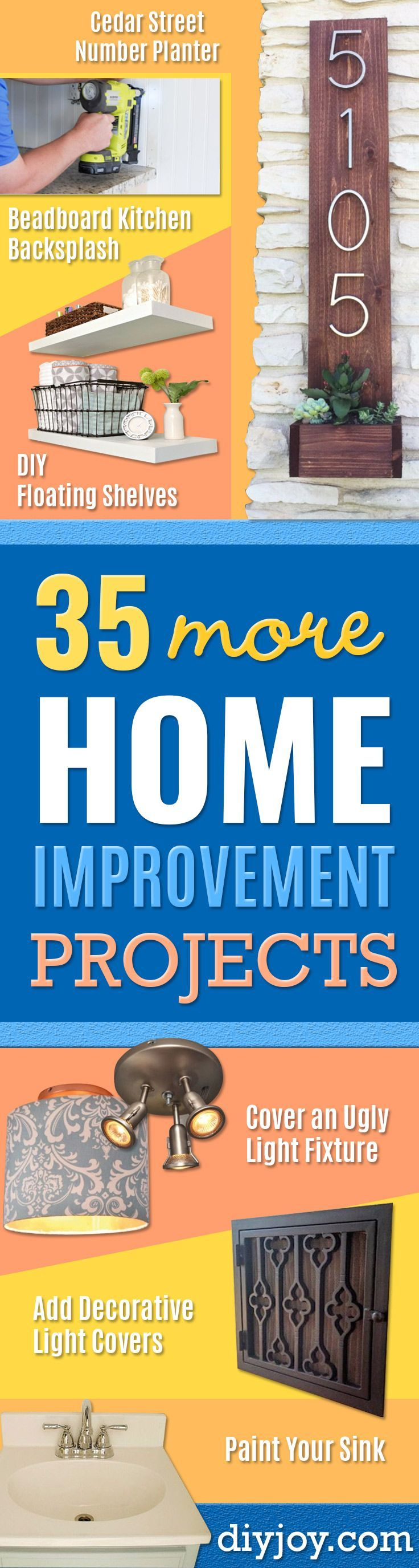 DIY Home Improvement Projects on a Budget – Cool Handyman Hacks, … #budget #coole #a #hacks # handyman