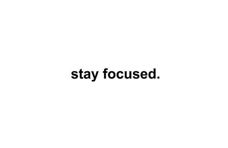 Just a kind reminder on this hump day. Stay focused on your goals! Stay focused on what's important! Stay focused!  Have a great day guys!