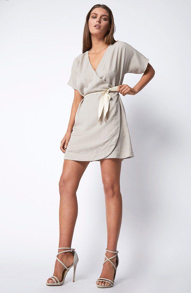 STAPLE THE LABEL - Ub1704456 Staple The Label Summertime Dress - Natural