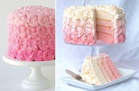 Торт из роз. Видео мастер классы