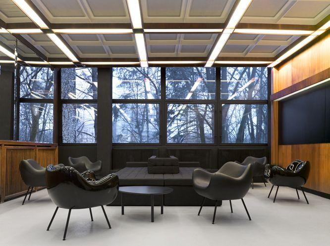 Designer: Roman Modzelewski Armchair 'RM 58'