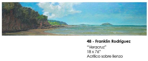 """""""Veracruz"""" por Franklin Rodríguez  / Gran Subasta de Arte - Fundación Relaciones Sanas  / Hotel Miramar Intercontinental, Panamá - 23 de Octubre de 2014@6:00pm"""