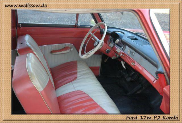 Ford Taunus 17m P2 Kombi als Kombi in Köln Porz