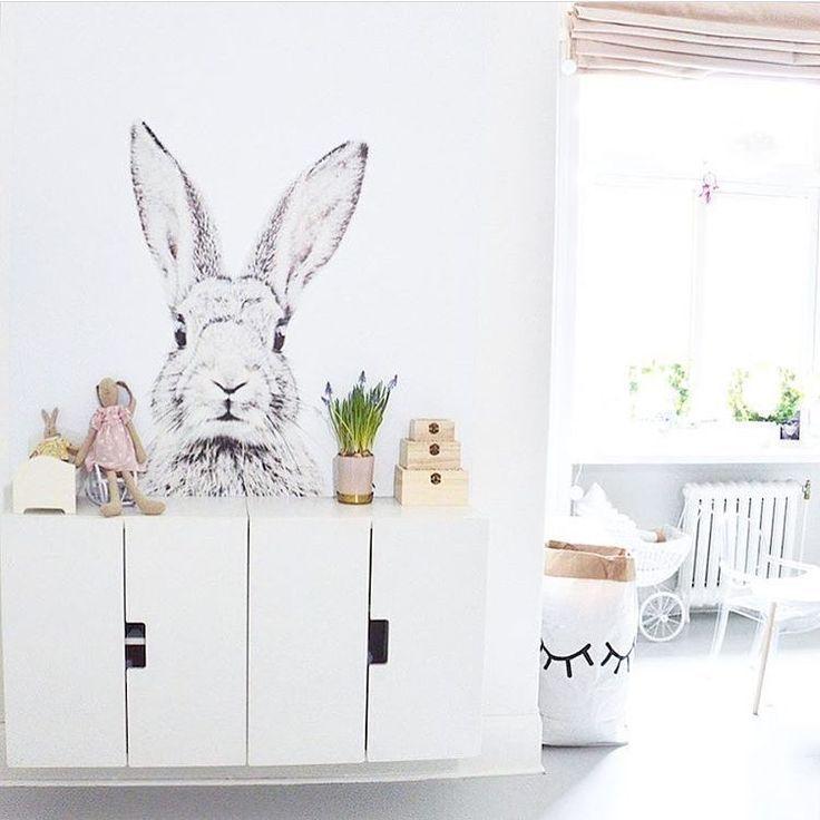 Bildresultat för barnrum kanin