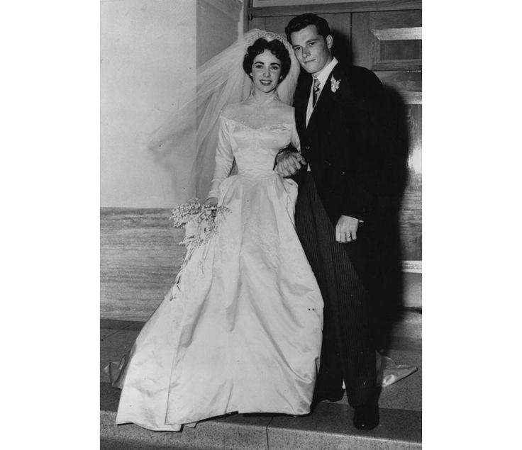 Les robes de mari e d 39 elizabeth taylor mariage for Rebecca robe mariage taylor