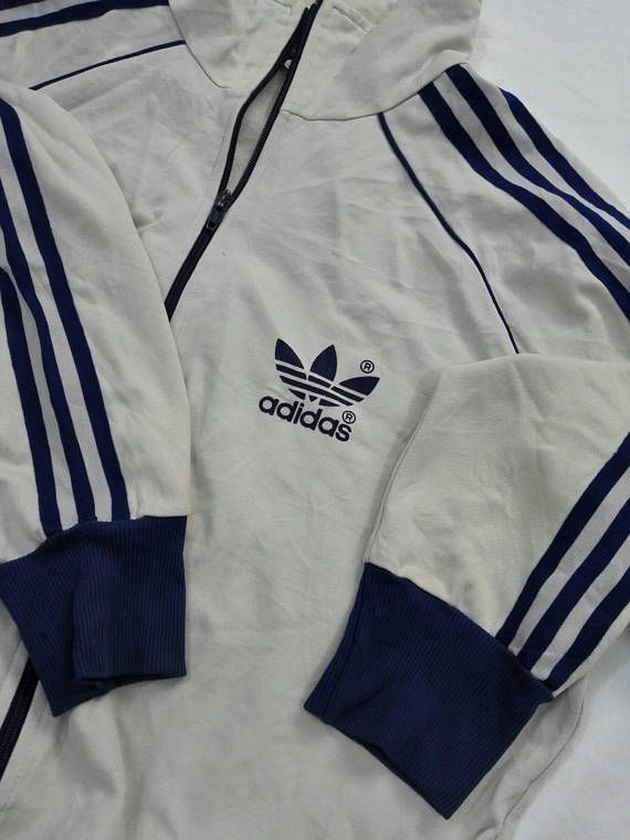 61f87286c608c Vintage 90s Adidas Three Stripes Line Jacket Sweater Casual ...