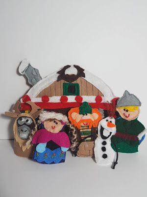 Elena Ricami: La casa di Frozen e i suoi amici...