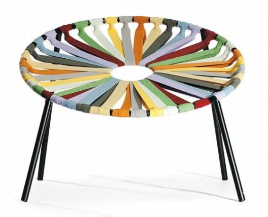 Lastika Designer Armchair by Velichko Velikov for Lago