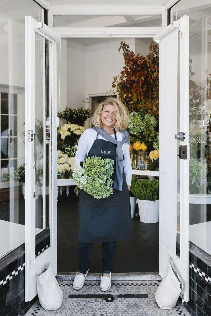 White apron melbourne - Fleur Mcharg Melbourne Australia Portrait Floristry And Event Styling Est Magazine
