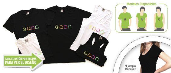 camiseta Pacman