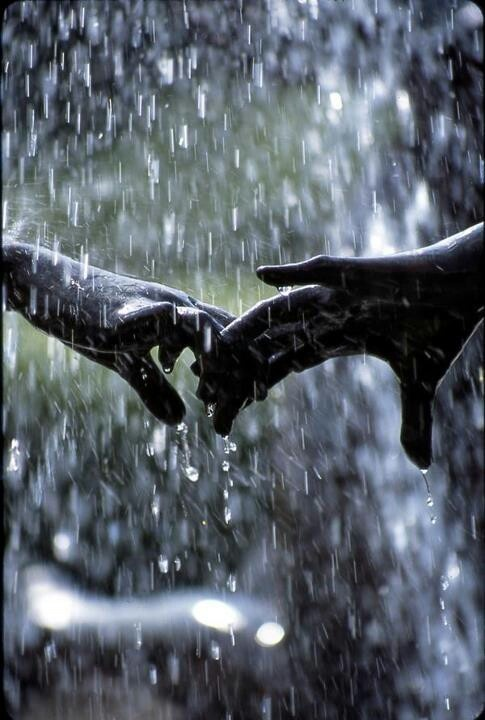 """"""" C'mon Nana!, Let's dance in the rain!!"""""""