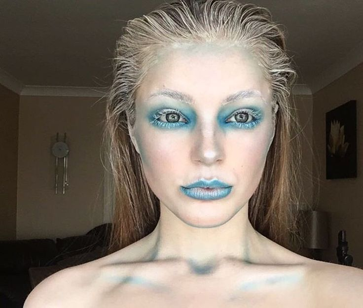 See this Instagram photo by @makeup.bynatalie • 134 likes | ice queen look for #halloween