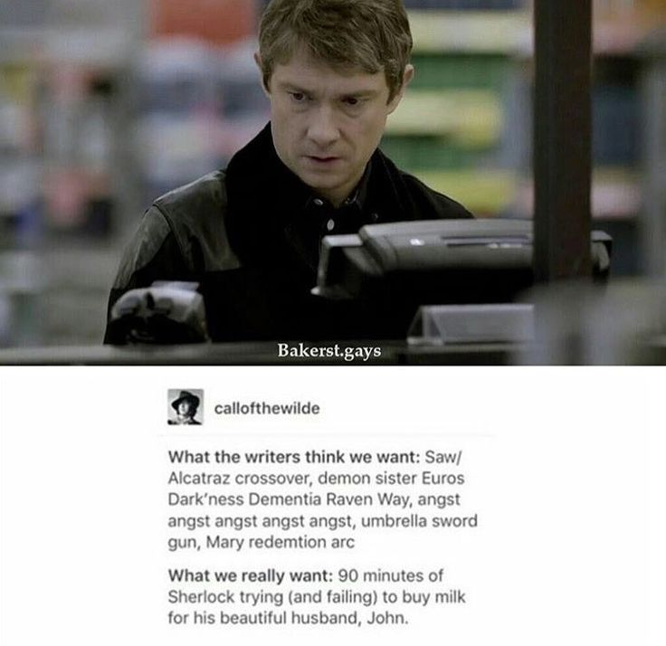 what we wanted for The Final Problem (Johnlock)