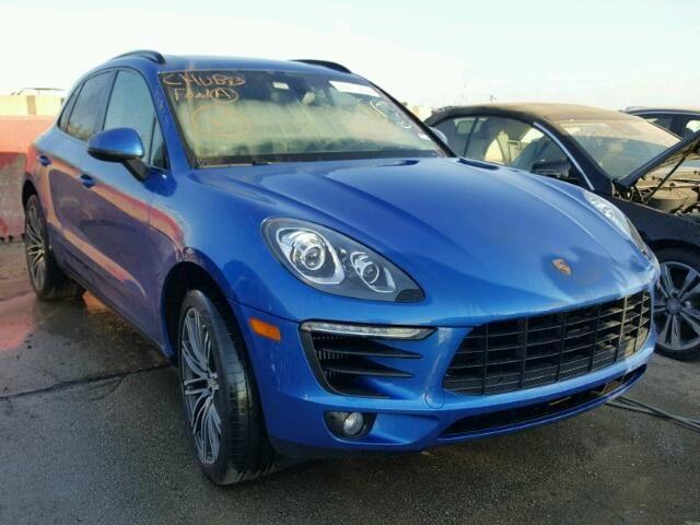 Salvage 2016 Porsche Macan S Suv For Sale   Flood Title