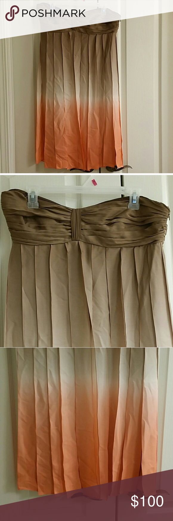 Nwt size 12 Nine West semi formal ombre dress Nwt size 12 Nine West semi formal ombre dress Nine West Dresses Strapless