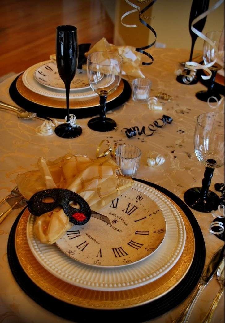 déco table élégante pliage serviette Nouvel An facile #decoration #table
