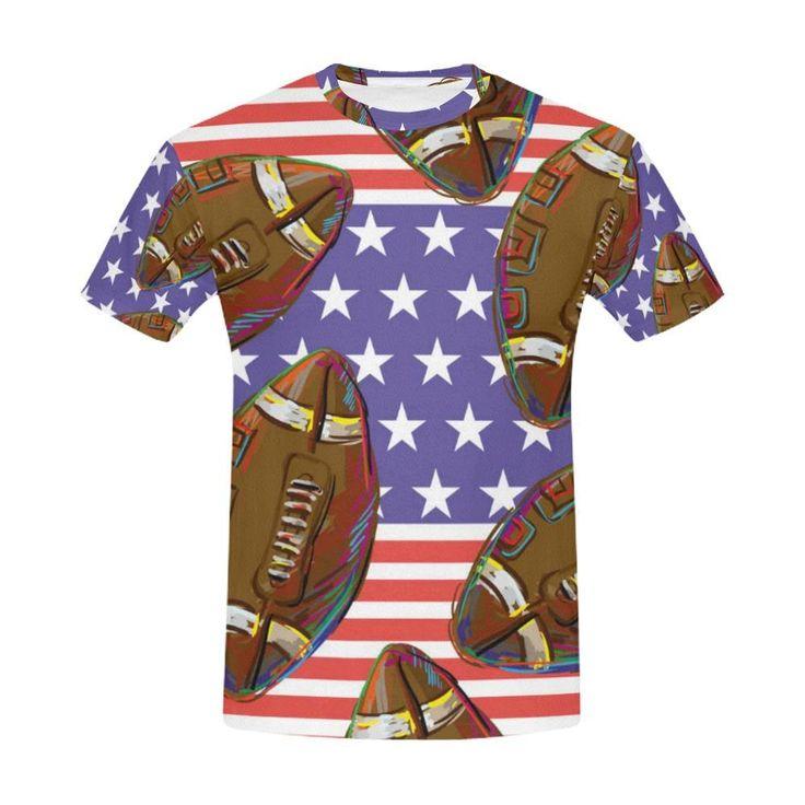 American Football T-Shirt for Men