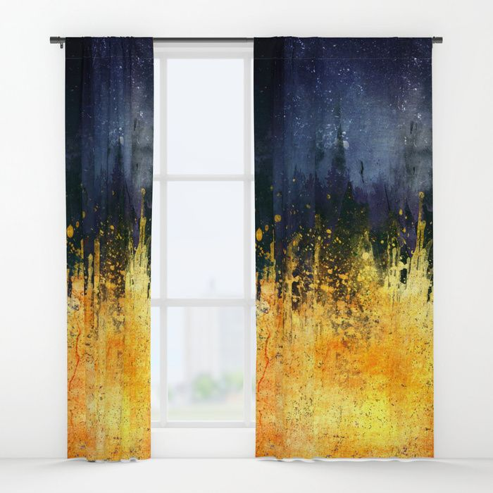 My burning desire Window Curtains by HappyMelvin | Society6