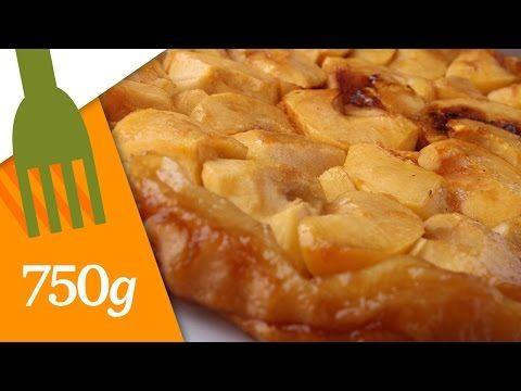 Recette tarte tatin aux pommes inspirée de Christophe Michalak ! Facile et délicieuse :) - YouTube