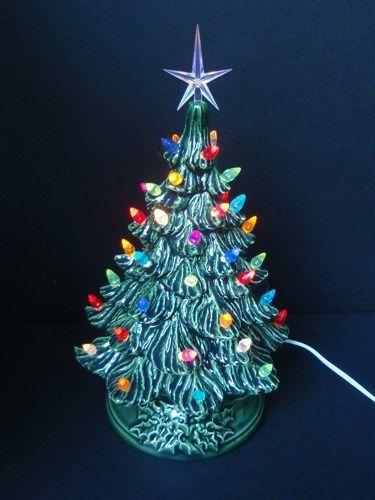 125 best Vintage tabletop Christmas trees images on Pinterest ...