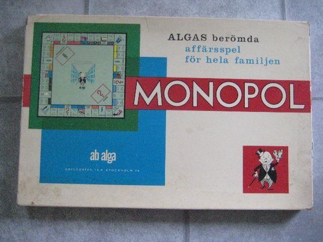 MONOPOL - gammalt klassiskt från 60-talet