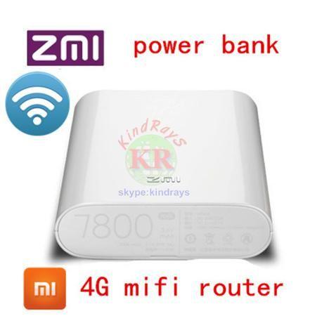 unlocked 4g wifi router Zmi MF855 7800MAH mifi 3G 4G lte router 4G Wireless Wifi Router Mobile Power Bank 7800mAh pk e5776 e589  — 3690.41 руб. —