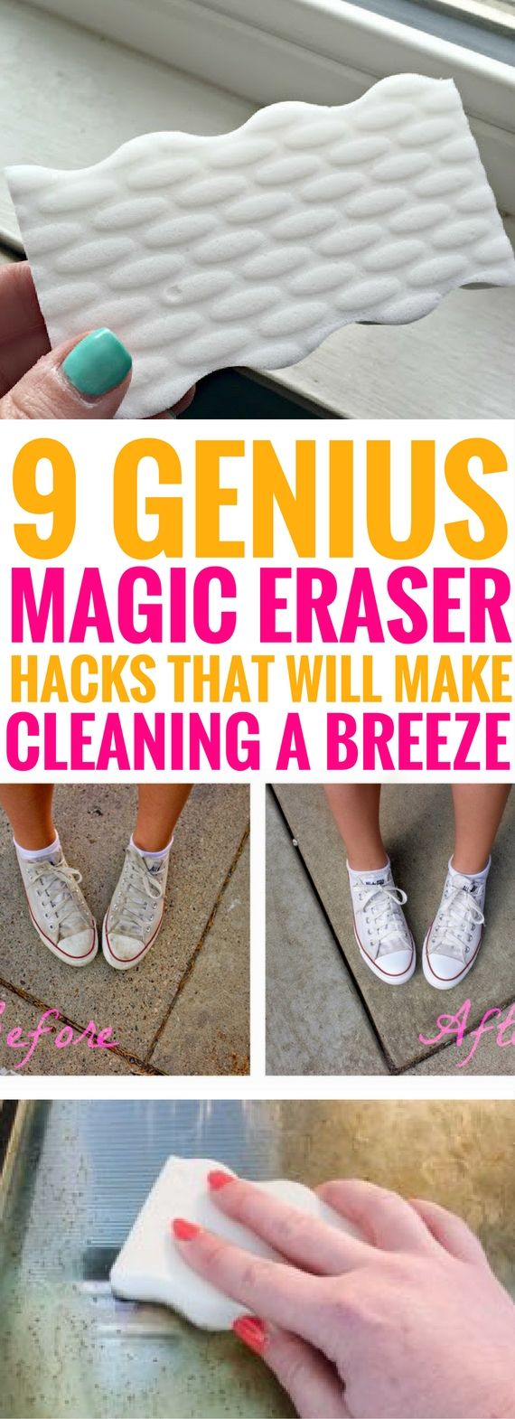 9 Genius Magic Eraser Hacks That Are