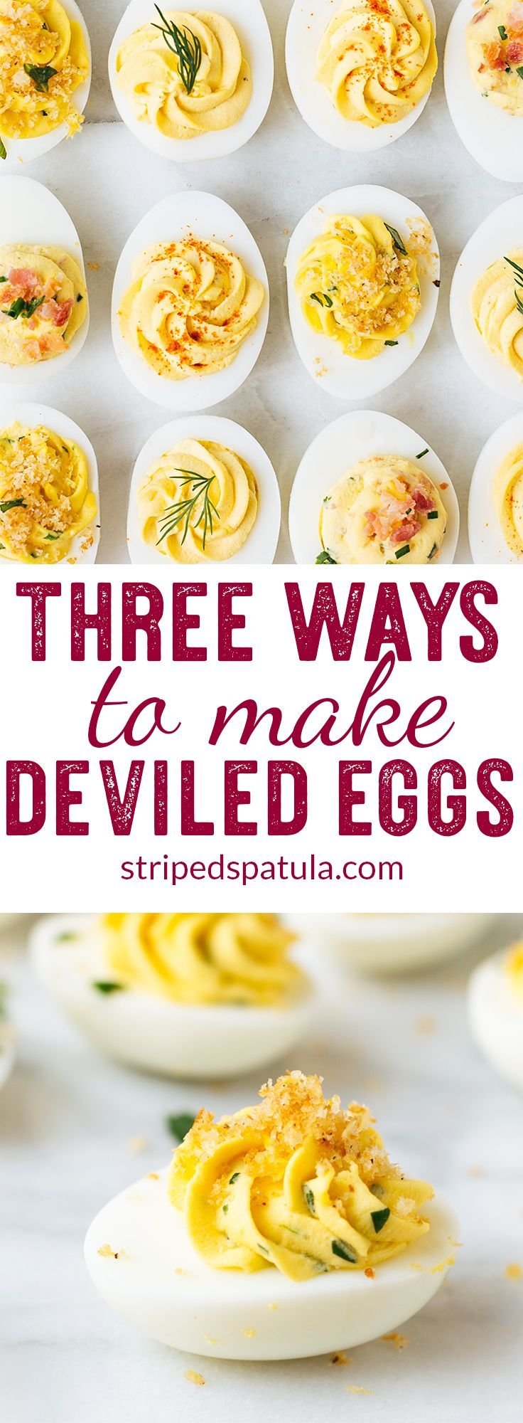 Deviled Eggs Easy Bacon Picnic Recipes Etizers