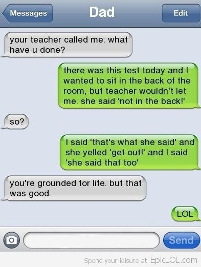 Well you are grounded for life, but that was EPIC!: Funny Texts,  Internet Site,  Website, Funnytexts, Web Site, Funny Stuff, Humor, Funnies, Funnystuff