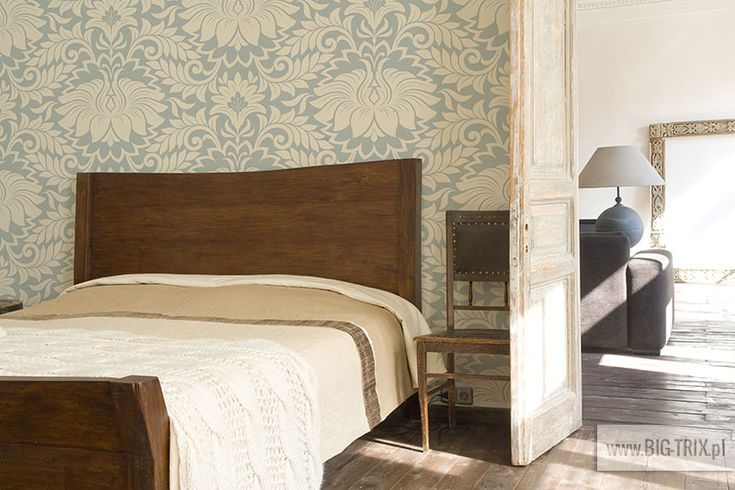 BEDROOM: Classic wallpaper by Big-trix.pl | #wallpaper #bedroom #vintage #classic
