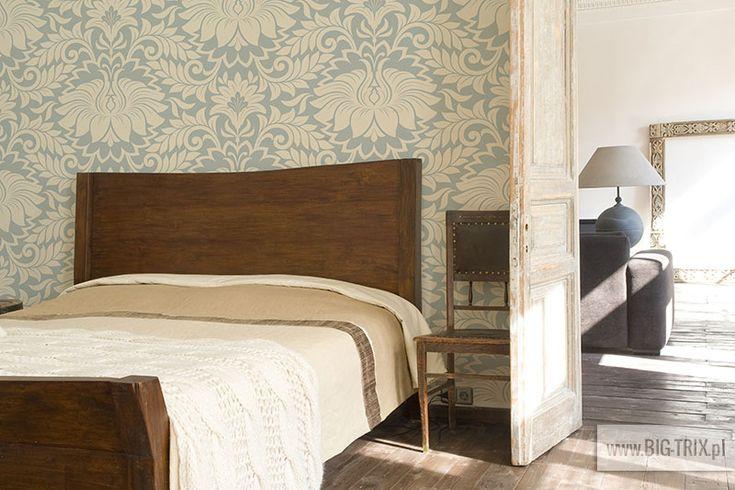 BEDROOM: Classic wallpaper by Big-trix.pl | #wallpaper #bedroom #vintage #classic