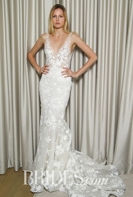 Paisley Off Shoulder Embroidered Lace Tulle Wedding Dress In Ivory