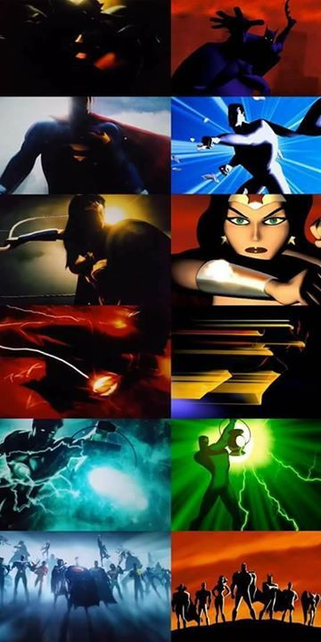 The DC Logo intro for the films is basically the Justice League animated series intro :)   - Nightwing #SuperHero #Batman #SuperHeroes #Marvel