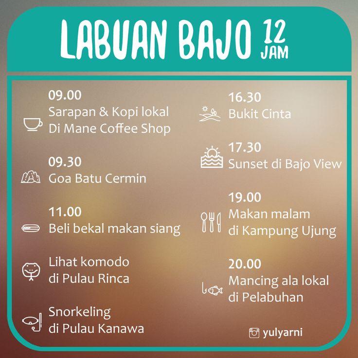 Punya kesempatan ke Labuan Bajo tapi cuma sebentar? Dalam waktu kurang dari 24 jam kamu bisa kok tetap eksis disana.