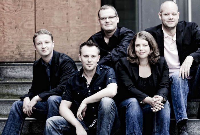 """German a cappella quintet CALMUS makes its Spivey Hall debut with """"Christmas Carols of the World"""" on Saturday, December 5, 2015."""