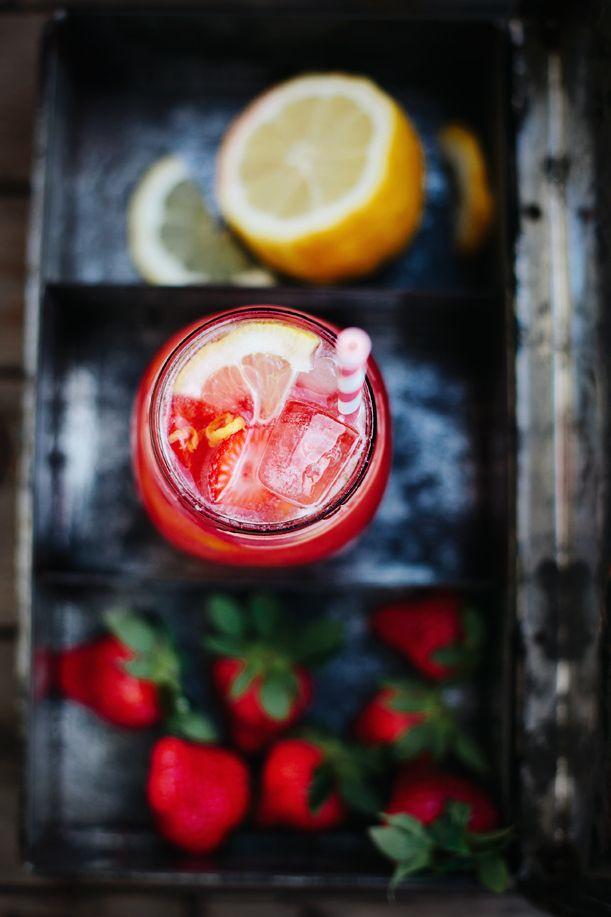 ... strawberry lemonade ...