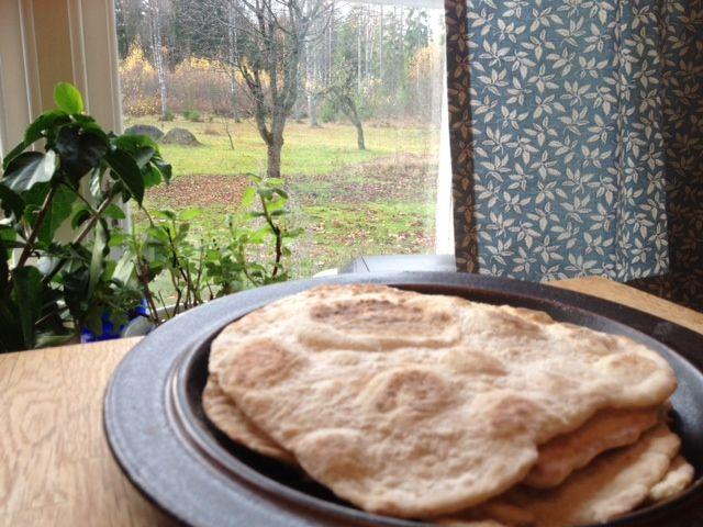 Glödhoppor -en slags tunnbröd | Øresunt
