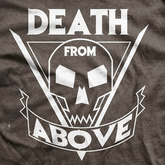 Starship Troopers Movie - Death From Above Tattoo T-shirt!