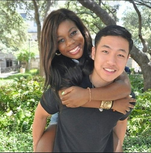Black Asian Couple 81